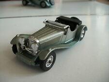 Matchbox Yesteryear 1936 SS 100 Jaguar in Light Green on 1:43