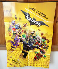 The LEGO BATMAN MOVIE POSTER 27 x 40 inches Folded, Double Sided