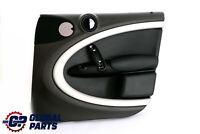 BMW MINI Countryman R60 Front Right O/S Door Card Trim Panel Black Dark Tobacco