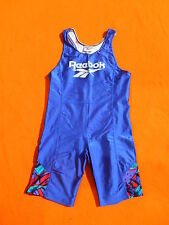 REEBOK Combi Tri Sprint Speed Suit Skinsuit Track Field Athletics Vintage 90s XL