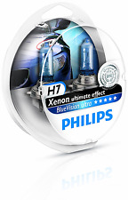 Philips 0730220 12972-BVUSM H7 Blue Vision 100% Headlight Bulbs (A Pair)