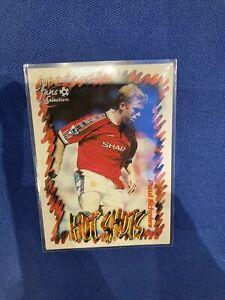 Futera Fans Selection 1999- Paul Scholes Manchester United 'Hot Shots' #46