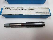 UB Tap 10DB70661  7/16-20 NF GH5 4F C. I. 5R4006  150244  Tap New Made in USA