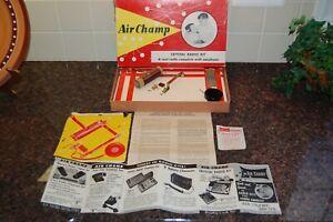 1950's Air Champ Crystal Radio Kit