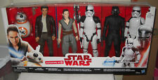 #9809 NRFB Disney Hasbro Target Store Star Wars 6 Doll Action Figure Set