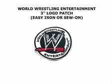 WWE Wrestling Logo Superhero Iron/Sew- On Embroidered Applique Patch