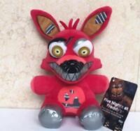 """2017 FNAF Foxy Plush Toy fun Five Nights at Freddy's Nightmare Doll 6"""""""