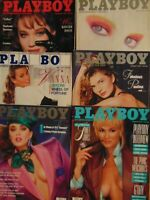6 Must have 80's Playboy Magazine     #1561