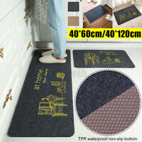 Practical Non-Slip Home Kitchen Bathroom Livingroom Door Mat Washable Carpet