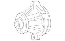 Genuine Ford Water Pump F3TZ-8501-C