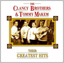 THE CLANCY BROTHERS + TOMMY MAKEM ~ THEIR GREATEST HITS / BEST OF NEW  SEALED CD