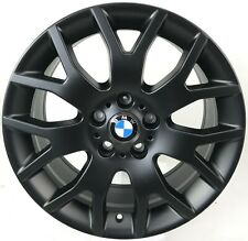 4x Original BMW X5 E70 Felgen 8,5J R18 Alufelgen 177 6774395 Schwarz Matt NEU
