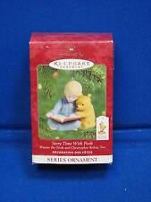 Hallmark 2002 Christmas Story Time with Pooh Winnie Series Christmas Ornament 02