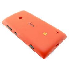 02504G3 Cover batteria Microsoft Nokia Lumia 520 Ross con scritta Orang original
