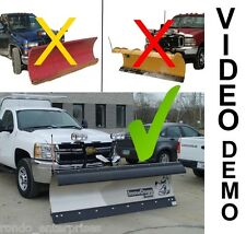 SnowDogg snow plow EX series 8' commercial snow plow. Many options INCLUDED!