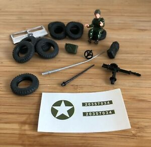Dinky 612 & 615 US Army Jeep Reproduction Parts - Choose From List