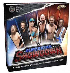 WWE - Superstar Showdown Wrestling Board Game (Gale Force Nine) #NEW