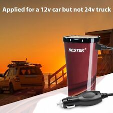 BESTEK 200W Power Inverter Car DC 12V to 230V AC w/ Cigarette Lighter + USB Port