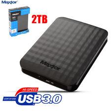 EX SAMSUNG MAXTOR M3 2TB TERABYTE  USB 3.0 2.0 ESTERNO PORTATILE AUTOALIMENTATO