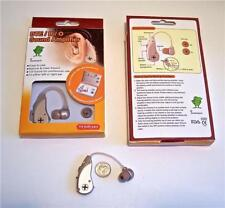 1 TOP VALUE  DIGITAL BTE HEARING AIDS USES LOW COST BATTERIES FREE SHIP