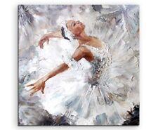 Ölgemälde – Ballerina auf Leinwand