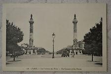 """CPA """" PARIS - Les Colonnes du Trône"""