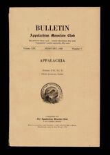 Howard Palmer / Bulletin Appalachia Mountain Club Vol XIX No 7 February 1926