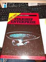Star Trek The Next Generation Make a Model Star Ship Enterprise Large Paperback