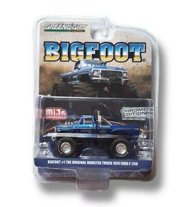 Greenlight Bigfoot #1 The Orginal Monster Truck 1974 Ford F-250  Chrome Edition