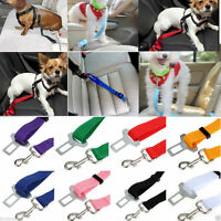 Car Vehicle Safety Seat Belt Restraint Harness Leash Travel Clip for Pet Dog