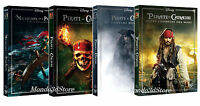 PIRATI DEI CARAIBI - LA QUADRILOGIA (4 DVD) Collezione Quattro Film Singoli