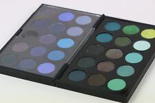 BEAUTIFUL MAC COSMETICS EYE SHADOW x29 GREEN & BLUE TONES DOUBLE PALETTE !!!