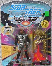 Star Trek Next Generations GOWRON THE KLINGON Figure Mosc New Playmates