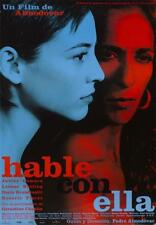 Hable con ella Talk to Her Spain Movie Art Fabric Poster 40x27 36x24 18x12""