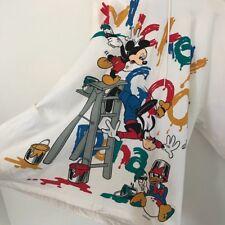 RARE FIND Mickey & Co Disney Mickey Mouse Vintage Sweatshirt Hoodie White XL