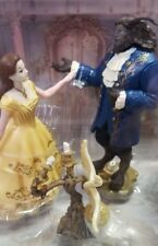 Beauty And The Beast Live Action Enchanted Figurine Set New!!!