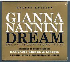 GIANNA NANNINI dream deluxe ed. 2 CD  F.C. SIGILLATO!!!
