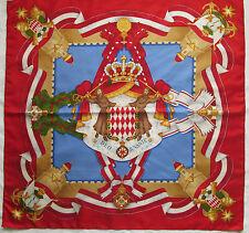 -Superbe Foulard   BATTISTONI 100% soie  TBEG  vintage scarf  collector