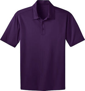Port Authority Mens Big & Tall Silk Touch Dri-Fit Polo Shirts NEW GOLF TLK540