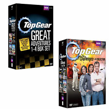 Top Gear The Great Adventures series 1 - 4 & The Challenges 1 - 4 DVD Box Set R4