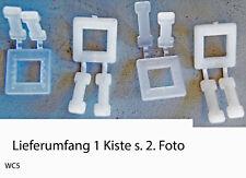Selbstsperrende Verschluss-Schnallen für Umreifungsbänder