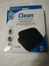 Carbon Filters- Cat it Design Clean Replacements for Hooded Litterbox 2 pack
