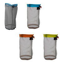 4 Pcs Ultra Light Mesh Stuff Sack Storage Bag Pouch for Tavelling Camping