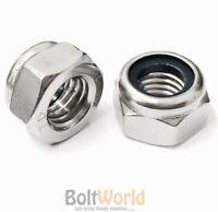 Stainless Steel NYLOCK lock NUTS nut M3 Marine etc 50pk