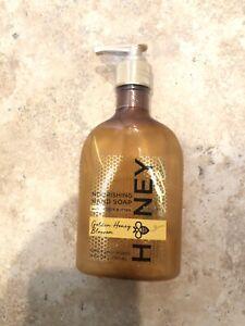 NEW Sealed Bath & Body Works Nourishing Hand Soap Golden Honey Blossom 8 oz