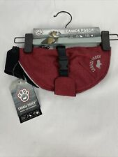 Canada Pooch The Expedition Dog Coat 22 Red