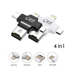 U Disk USB Flash Drive Memory Stick Card Reader For iPhone 7 8 X Samsung Type-C