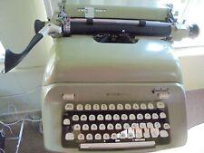 vintage (mid 60s) Royal Empress series manual typewriter-light green-very good