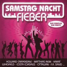 Samstag Nacht Fieber 2CD:F.R. DAVID,MEN WITHOUT HATS,DESIRELESS,GIBSON BROTHERS