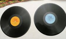 """2 78 RPMs, 10"""", on """"Sun"""" label, not THE Sun label (Elvis & others), Yiddish, VG"""